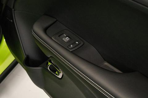 Passenger door controls