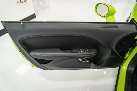 Top of driver door