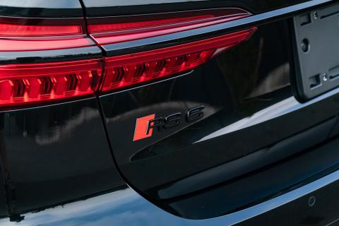 Rear RS6 Badge